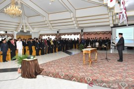 Ratusan pejabat pengawas dan fungsional Pemkab HSS dilantik