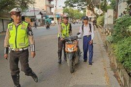 Banyak pelajar SMP  langgar aturan lalu lintas