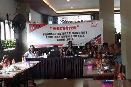 KPU kota Ambon evaluasi kampanye Pemilu 2019