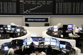 Saham Jerman menghentikan kerugian beruntun, Indeks DAX 30 naik 0,60 poin