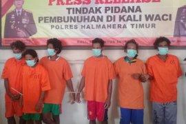 Enam warga suku Tugutil ditangkap terkait dugaan kasus pembunuhan