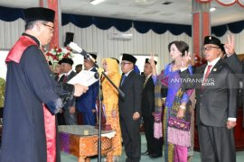 Ketua PN lantik 20 anggota DPRD Sibolga periode 2019-2024