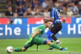 Romelu Lukaku cetak gol debut Serie A bersama Inter Milan