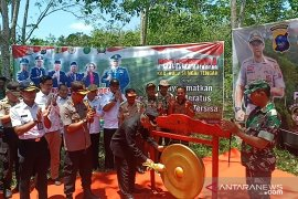 Kapolres HST apresiasi Desa Hawang jadi Kampung Bebas Karhutla