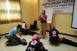 Sukarelawan PMI NTB belajar spesialisasi pertolongan profesional