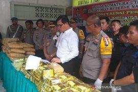 Peredaran narkoba jaringan Malaysia digagalkan Polda Sumut