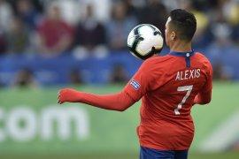 Alexis Sanchez telah berada di Milan jelang kepindahan sebagai pemain pinjaman