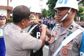 Polda Maluku Utara gelar apel Operasi Patuh 2019