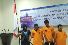 Tiga kurir jaringan narkoba  Aceh ditangkap BNNP Bali