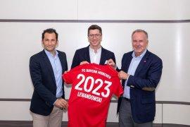 Lewandowski bertahan di Bayern Munchen hingga 2023