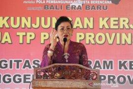 Putri Koster intruksikan kegiatan PKK sentuh  kebutuhan masyarakat