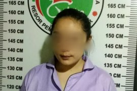 Polisi tangkap perempuan pengedar sabu