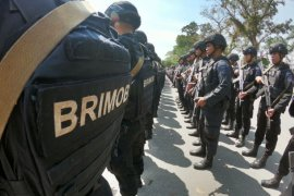 Brimob Polda Jambi BKO ke Papua