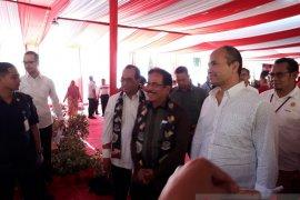 Menteri Luhut berharap pembebasan sisa lahan Bandara Kediri segera tuntas