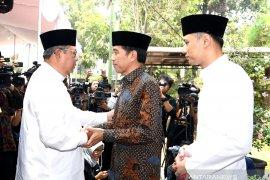 Presiden Jokowi melayat ke kediaman SBY