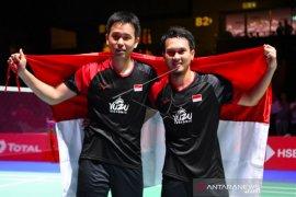 Hendra/Ahsan rebut tiket final China Open