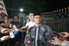 Jenazah ibunda SBY disemayamkan di Pendopo Puri Cikeas sebelum dimakamkan