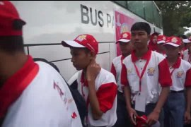 Peserta SMN asal sulteng dibawa PTPN IV berwisata pendidikan ke DEL
