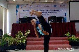 Antara TV - Peserta SMN Perkenalkan Permainan Tradisional Bangka Belitung