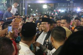 Warga hadang Anies usai Jakarta Muharram Festival