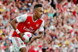 Aubameyang yakin Arsenal finis empat besar