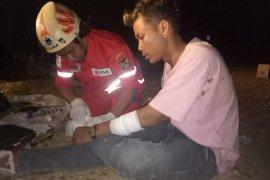 PMI sebut korban bentrok antarsupoter alami luka dan sesak