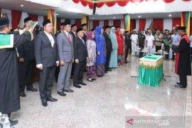 45 anggota DPRK Aceh Utara dilantik, dua absen