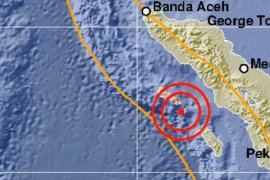 Aceh dilanda gempa magnitudo 5 tapi tidak berpotensi tsunami
