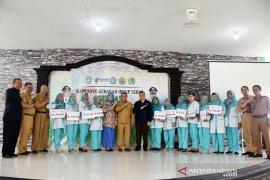 Dinkes Kubu Raya luncurkan Bank Sampah Maju Bahagia Desa Parit Baru