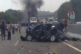 Kecelakaan beruntun di Tol Cipularang, lokasinya dekat kecelakaan mobil Saiful Jamil