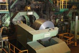 PT KS produksi baja komersial perdana dari hasil Blast Furnace