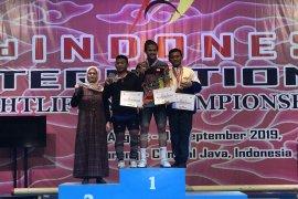 "Atlet remaja Banten sumbang medali emas pada ""2nd IIW Championships"""