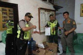 Ratusan botol miras diamankan Jajaran Polres Cianjur