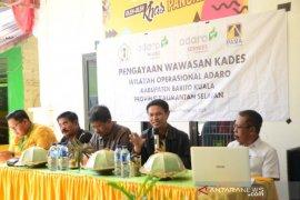 Kades Kecamatan Kuripan belajar Bumdes ke Desa Pitue