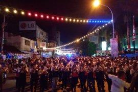 Festival brass hadrad dan totobuang  meriahkan Ambon pono deng musik