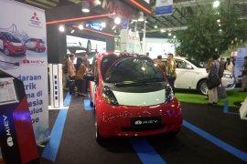 Puluhan model kendaraan listrik dipamerkan di IEMS 2019