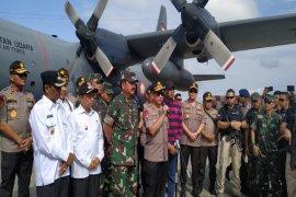 Panglima TNI bantu heli selidiki keberadaan para pendulang di pedalaman Papua
