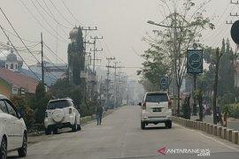 Dinas Kesehatan Balangan pantau perkembangan kabut asap