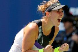 Bencic  ke semifinal pertamanya pada US Open
