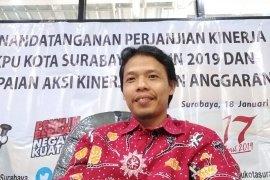 Penyerahan syarat dukungan Bacawali Surabaya perseorangan mulai 11 Desember 2019