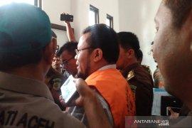 Mantan Wali Kota Sabang ditahan diduga korupsi pengadaan tanah