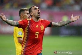 Spanyol mempecundangi Rumania di kualifikasi Piala Eropa 2020
