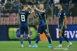Empat gol dalam 10 menit akhir, Bosnia habisi Liechtenstein 5-0