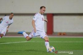 Denmark lumat Gibraltar dan Irlandia tak terkalahkan di kualifikasi Piala Eropa 2020