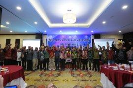 Kapolri-Panglima TNI hadiri deklarasi menjaga Papua damai