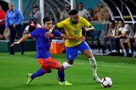 Brazil imbang dengan Kolombia 2-2, Neymar sumbang gol