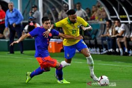 Brazil dan Kolombia bermain imbang 2-2