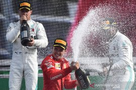 Leclerc juara di Monza, duo Mercedes lengkapi podium