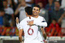 Portugal akhirnya bukukan kemenangan perdana dalam kualifikasi Piala Eropa 2020