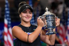 Juara US Open Bianca Andreescu bermain di China Open